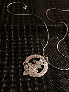 Clan Gregor Crest Handmade pendant, 1960s Photo: Susan Tichy, 2015