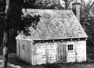 Slave quarters, Sotterly Plantation St. Mary's County, MD / Photo: H. Bevile, 1953 Source: Cultural Landscape of the Plantation George Washington University