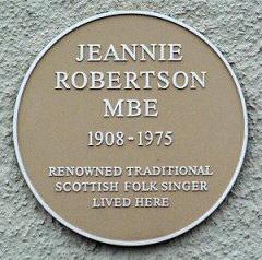 JeannieRobertson plaque